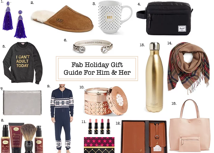 Fab Holiday GiftGuide