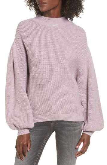 https://shop.nordstrom.com/s/leith-blouson-sleeve-sweater/4553395