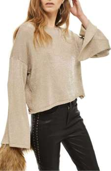 https://shop.nordstrom.com/s/topshop-metallic-flute-sleeve-crop-sweater/4830343?origin=topnav&cm_sp=Top%20Navigation-_-Women-_-Sweaters&offset=4&top=72&price=%27%2425-%2450~~30%27&page=2